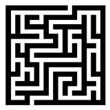 Maze Royalty Free Stock Photography