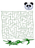 Maze 34. Color illustration of a children's play Royalty Free Stock Images