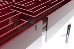 Maze1 Stock Afbeeldingen