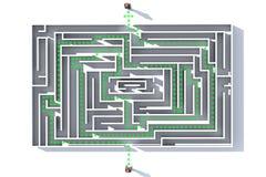 Maze3 Royalty-vrije Stock Afbeelding