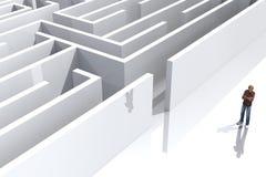 Maze4 Royalty-vrije Stock Fotografie
