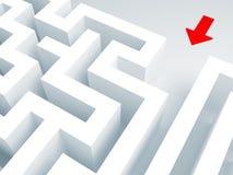 Maze 3d Stock Images