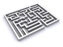 maze 3d Royaltyfria Bilder