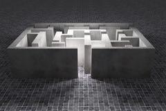 maze Imagem de Stock Royalty Free