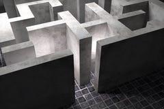 maze Fotografia de Stock