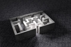 maze Fotografia de Stock Royalty Free