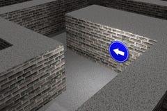 maze Foto de Stock