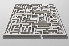 maze ilustração stock