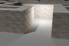 maze Imagens de Stock Royalty Free