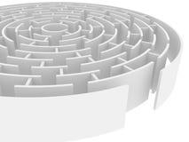 maze Royaltyfri Illustrationer