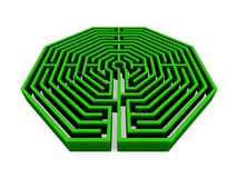 Maze Royalty Free Stock Photos