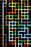 Maze Abstract Background Royalty Free Stock Photography