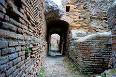 Maze in ancient city Stock Photography