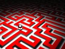 Maze background Stock Images