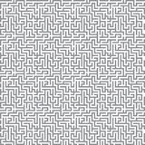 Maze background. Vector maze background grey and white Stock Photography
