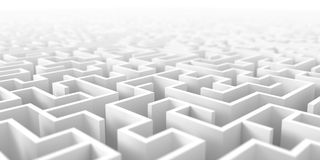Maze background Stock Photography