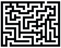 Maze Royalty Free Stock Images