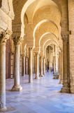 The maze of columns Royalty Free Stock Photos