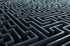 Maze. Royalty Free Stock Photography