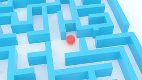 Maze concept. stock video