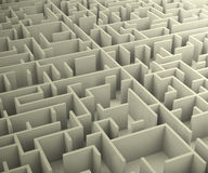 The maze Stock Images