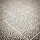 Maze 3d Stock Image