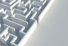 Maze Difficulties Concept Stock Photos