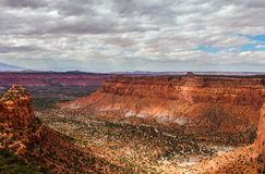 Maze District of the Canyonlands National Park in Utah. Royalty Free Stock Images