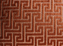 Maze Fabric Background. A background of a fabric with a pattern of a maze on it Stock Images