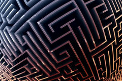 Maze. Royalty Free Stock Images