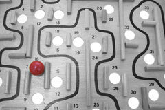 Maze Game royalty free stock images