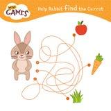 Kids educational game stock illustration