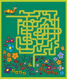 Maze game Royalty Free Stock Photography