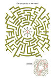 Maze game Stock Images