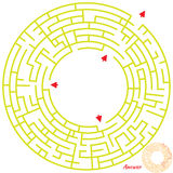 Maze Game for kids Royalty Free Stock Photos