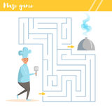 Maze game for kids Royalty Free Stock Image