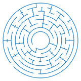 Maze game on a white background. Illustration stock illustration