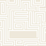Maze-gentle-pastel-grunge-background. Yellow Maze texture and place for your text isolated. Abstract vector illustration EPS 10. Concept psychology, creative Stock Photography