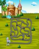 Maze Royalty Free Stock Photography