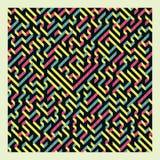 maze Ilustração do vetor do labirinto Fotografia de Stock Royalty Free
