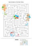 Maze for kids Stock Photos