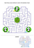Maze for kids Royalty Free Stock Photography