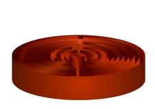 Maze - labrinth Stock Image