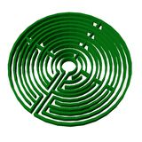 Maze (labyrinth) Royalty Free Stock Photography