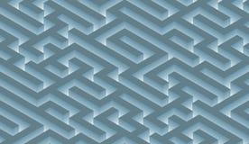The maze, labyrinth - endless Royalty Free Stock Photos