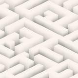 The maze, labyrinth endless seamless pattern Stock Photo