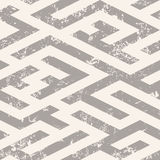 The maze, labyrinth endless seamless pattern. Vector background Stock Photo