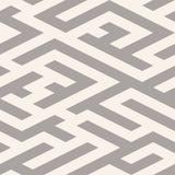 The maze, labyrinth endless seamless pattern Stock Photography