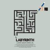 Maze Labyrinth Stock Image