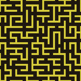 Maze labyrinth pattern. Royalty Free Stock Photo